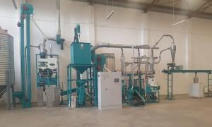 10t/24h Maize Flour Milling Machine